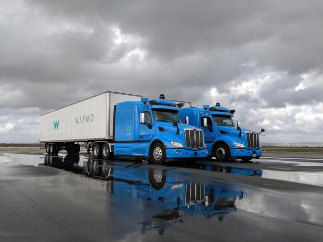 Waymo Plans to Use Self-Driving Trucks to Deliver Freight to Google's Data Centers