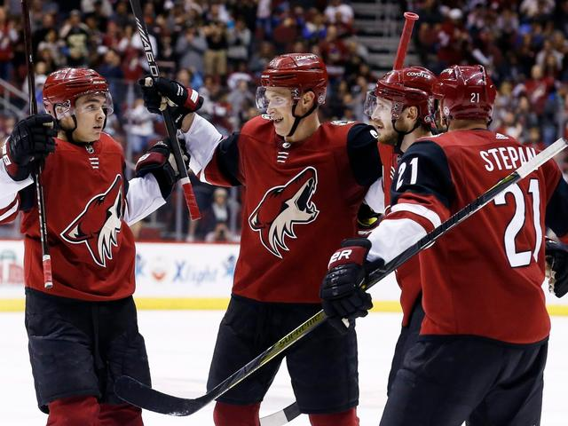 Coyotes blank Canucks on Ekman-Larsson's power play goal