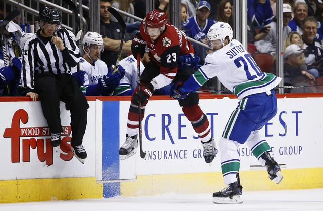 Ekman-Larsson, Kuemper lead Coyotes past Canucks, 1-0