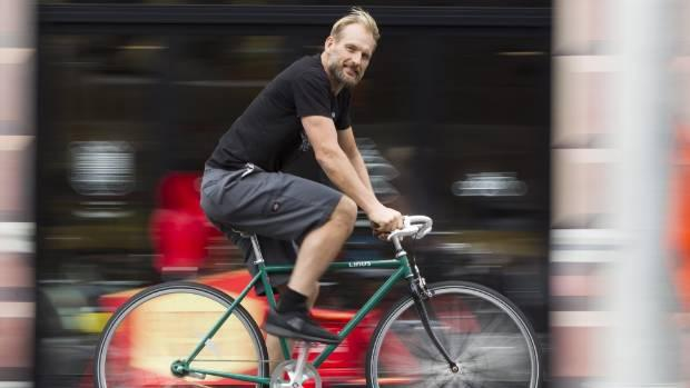 Renewed push for review of cycle helmet law starts with protest ride in Wellington