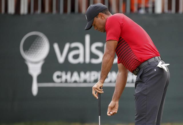 Casey wins at Innisbrook as Woods come up short by a putt