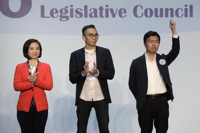 Hong Kong pro-democracy movement loses ground in by-election