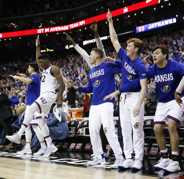 Kansas is No. 1 in Midwest Region featuring all-time greats