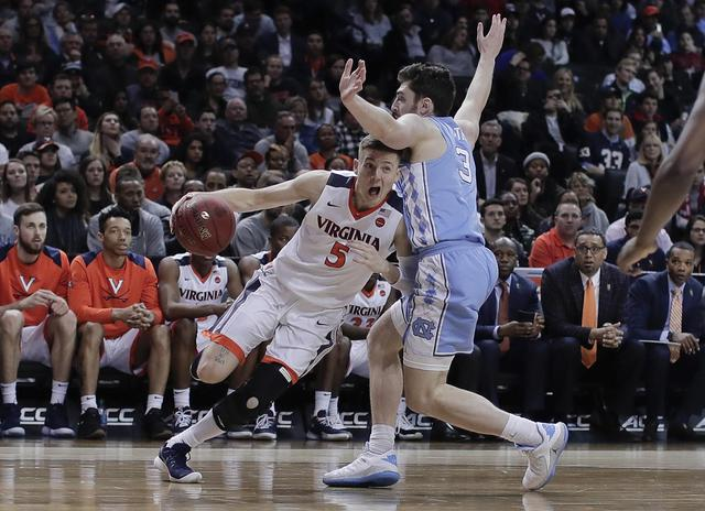 NCAA on the bubble: Virginia gets top billing for March