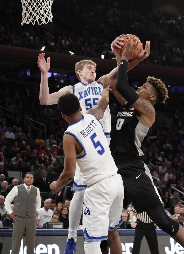 The Latest: Xavier is No. 1 seed 1st time in school history