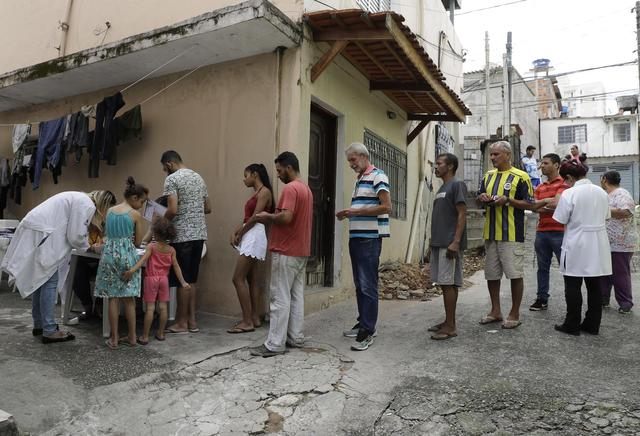 Rumors, mistrust hinder Brazil yellow fever vaccine campaign