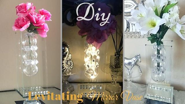 Diy Modern Levitating/ Floating Mirror Vase