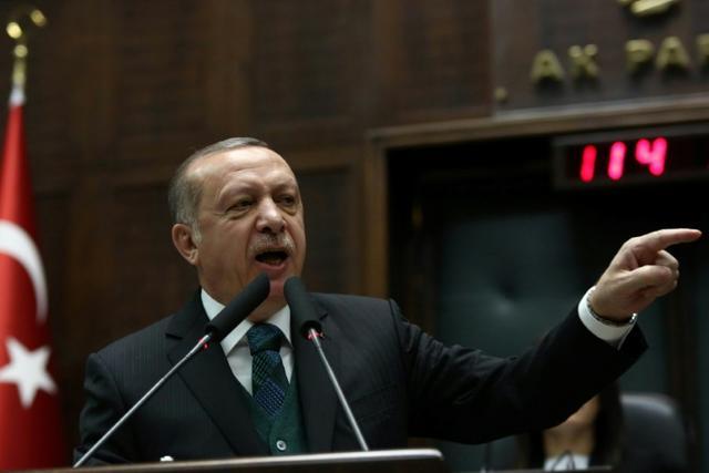 Erdogan tells US to end 'deception' on Syria