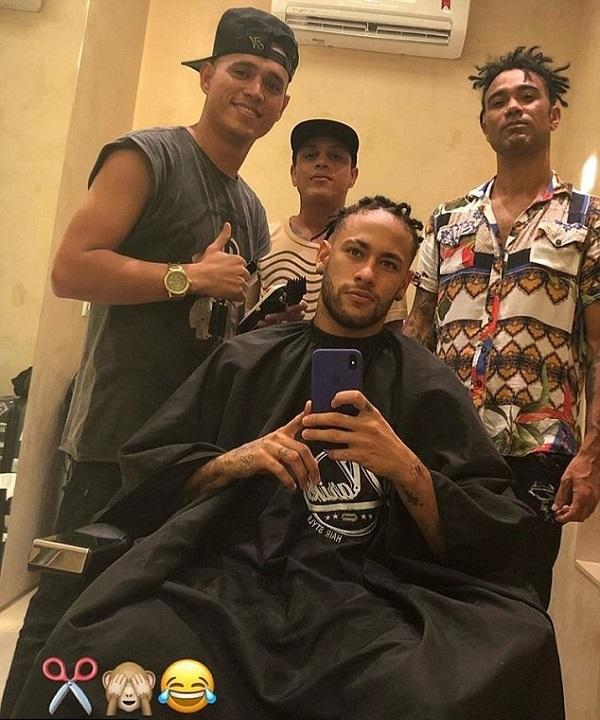 Neymar Spots New Hairstyle And Fans Are Going Crazy About It!
