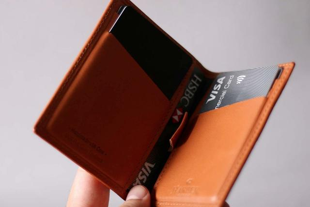 91eca7da2bf0 ... Never Compromise  Harber London s Leather Bifold Wallet ...