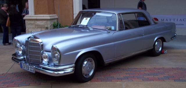 Mercedes w111 coupe