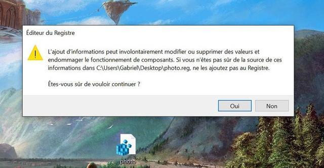 Windows 10 : comment réactiver l'ancienne visionneuse photo par défaut