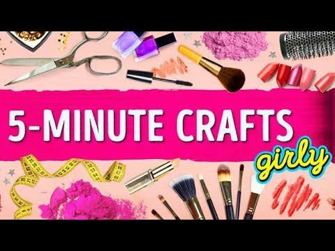 Top 12 Ideas Of 5 Minute Crafts Girly