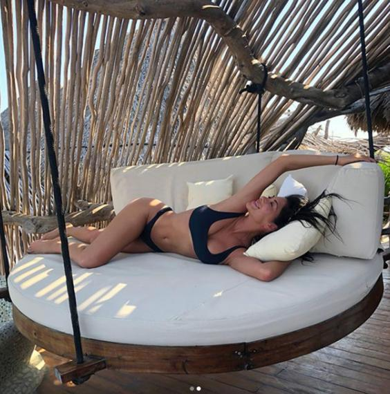 Nicole Scherzinger Leaves Fans Flustered With Cheeky Buns Out Holiday Snaps