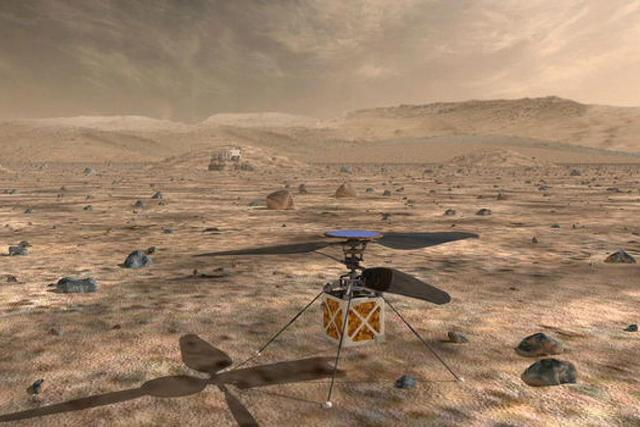 NASA to send helicopter to Mars in landmark test mission of flight in space