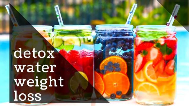 Detox water for weight loss - Homemade