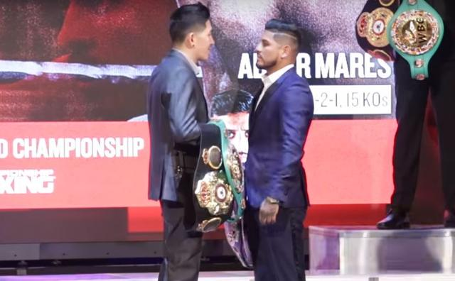 Abner Mares On The Difference Between First Fight and Now With Santa