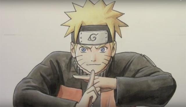 How to Draw Naruto_国际_蛋蛋赞