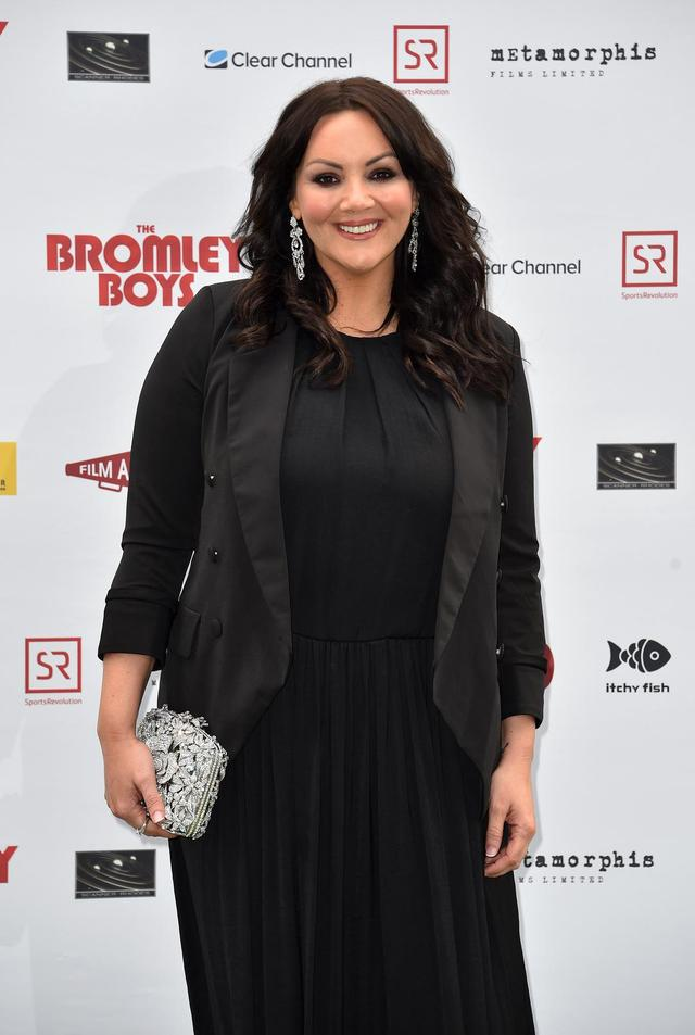 Martine McCutcheon hopes she did Dale Winton proud with