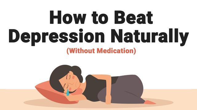 what to do for depression without medication
