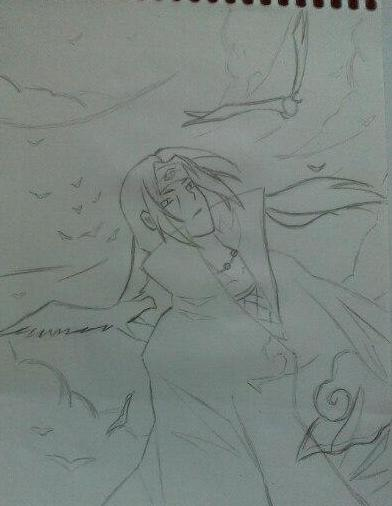 How To Draw Itachi Uchiha From Naruto In Pencil In Stages 国际 蛋蛋赞
