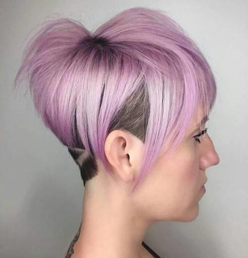 Best Shaved Hairstyles For Women To Try In 2018_国际_蛋蛋赞