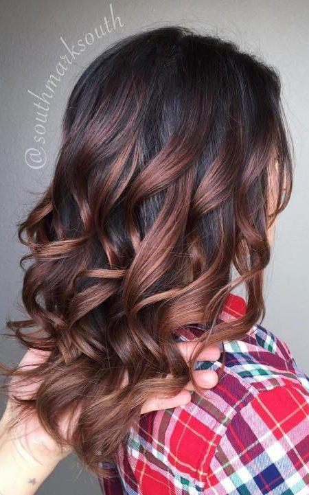 Natural Looking Brunette Balayage Hair Colors For 2018