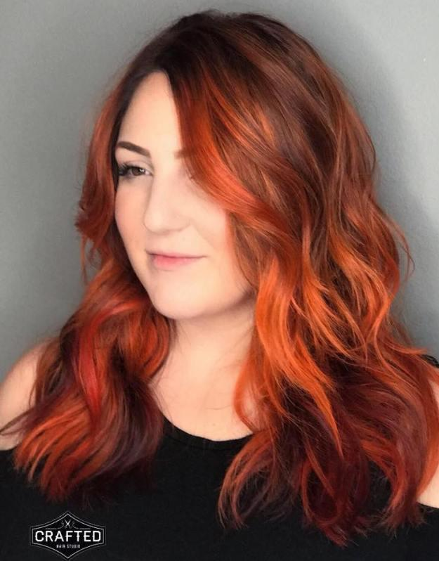 Burnt Orange Hair Color Is Officially Here To Stay