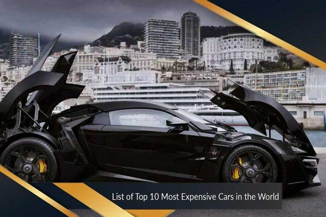 List Of Top 10 Most Expensive Cars In The World 国际 蛋蛋赞