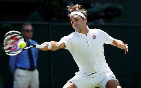 Roger Federer vs Dusan Lajovic, Wimbledon 2018 first round