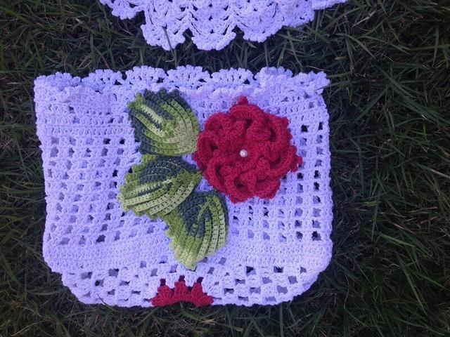 d92e516b6 Folhas de Crochê: 36 Modelos para Inspirar Você