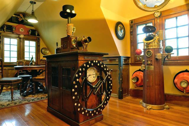 The Brilliance of Victorian England-Steampunk Style in the Interior: 64 Selected Design and Decor Ideas