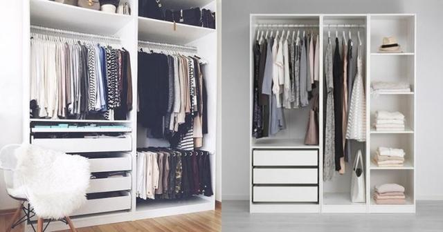 Delicieux The Idea Of A Doorless Closet Design Is Simple And Artistic