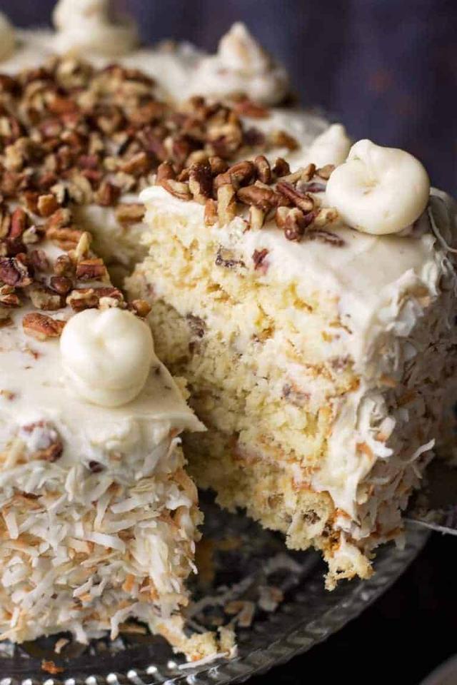 The Best Classic Recipe Dessert Italian Cream Cake 国际 蛋蛋赞
