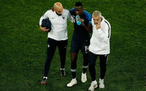 Blaise Matuidi set to start for France in World Cup final despite concussion concerns