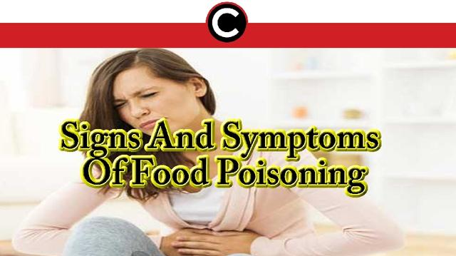 Signs And Symptoms Of Food Poisoning国际蛋蛋赞
