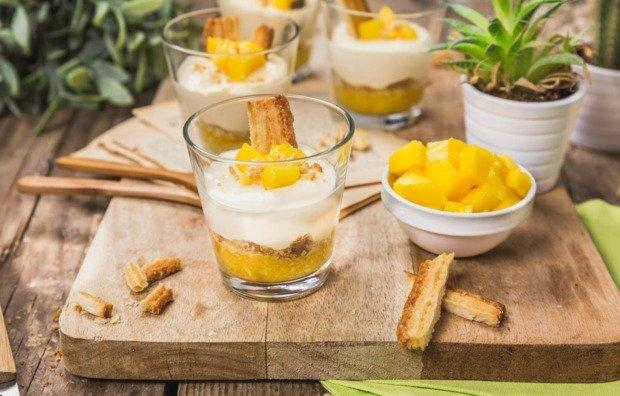 Dessert With Mango And Mascarpone Good Recipe国际蛋蛋赞