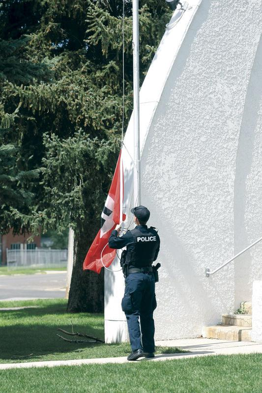 A Nazi Flag Was Found Flying In A Park Where An American Flag Had