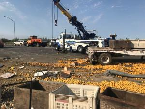 CHP: Fatal Crash in Sutter County Leaves 50,000 lbs of Peaches on