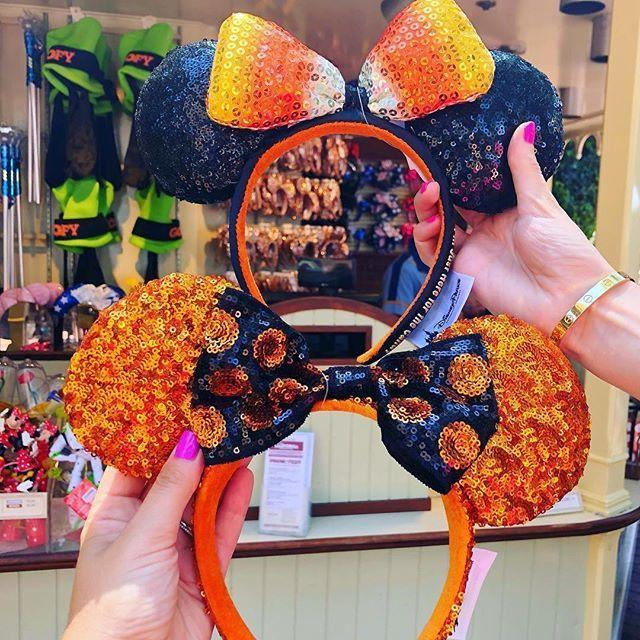 disneylifestylers also available at disney world repost weknowdisney new halloween ears dropped at disneyland today
