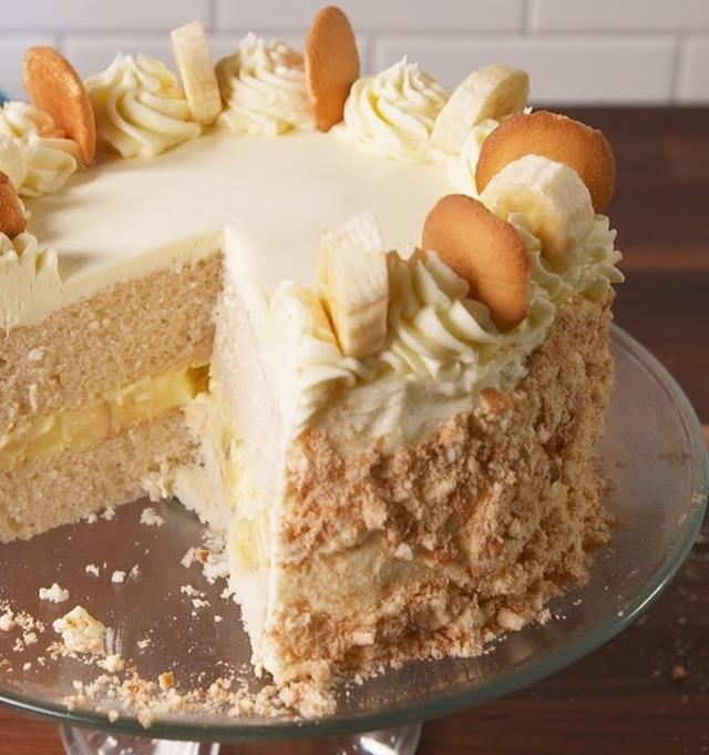 Banana Pudding Cake Is The Birthday Cake Youx27ll Request Year