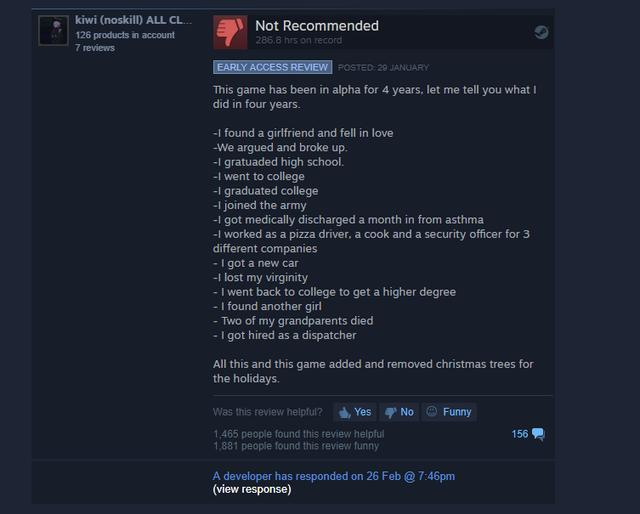 The Funniest Steam Reviews From P*ssed Off Players_国际_蛋蛋赞