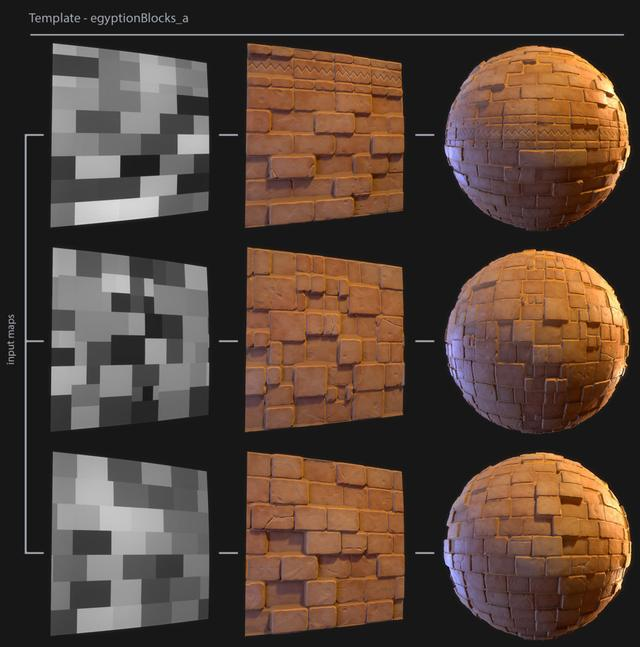 Stylized Textures Production in Substance Designer_国际_蛋蛋赞