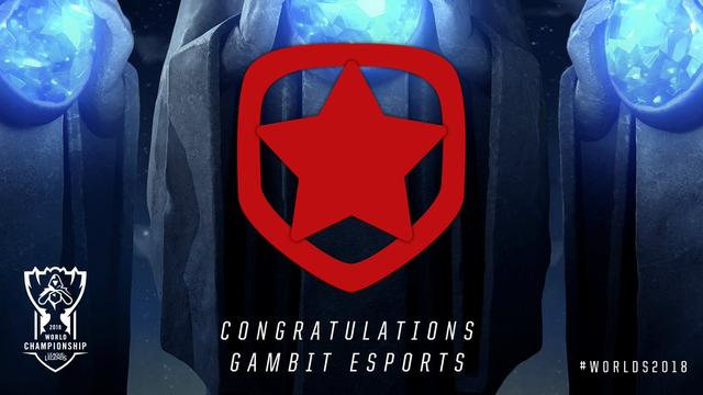Gambit Qualifies for League of Legends World Championship_