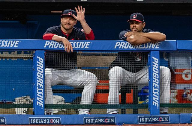 Cleveland Indians: Josh Donaldson flashing his power in