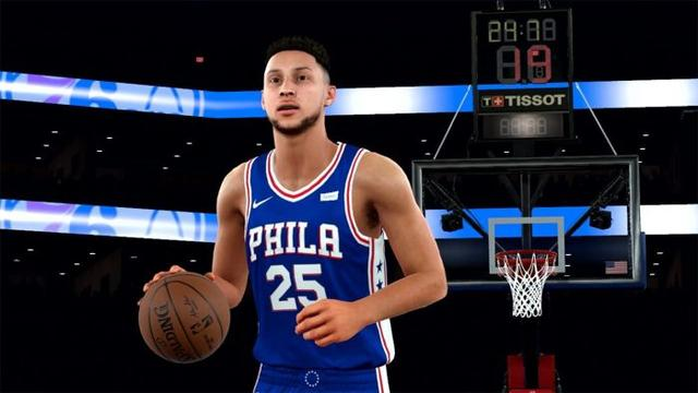 24abd60b477b NBA 2K19 Gameplay – LA Lakers vs. Golden State Warriors 国际 蛋蛋赞