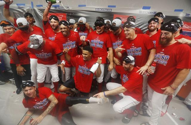 Cleveland Indians: a look back at the division-clinching win