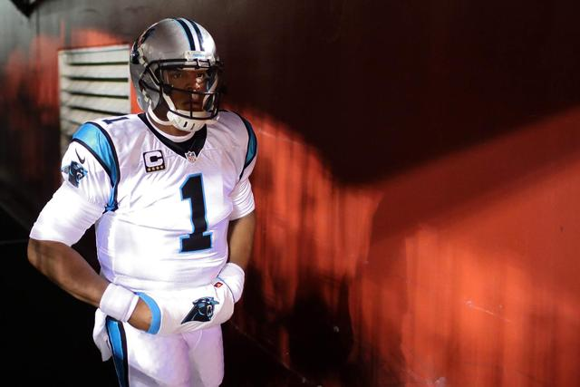 WATCH: Cam Newton Takes Huge Hit, Scuffle Breaks Out After
