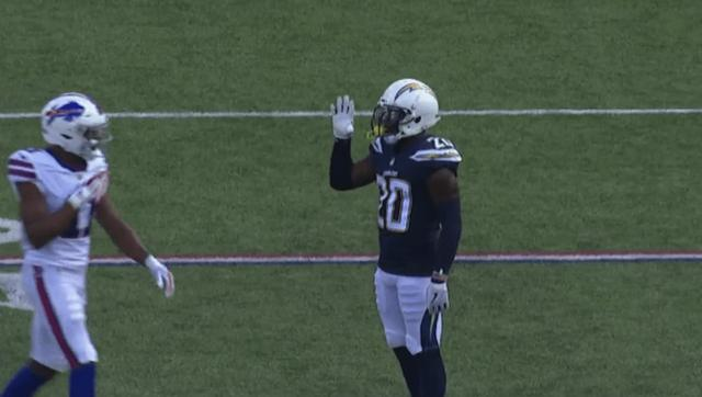 VIDEO: Desmond King Gets Dumb Unsportsmanlike Penalty for Waving Wideout Goodbye