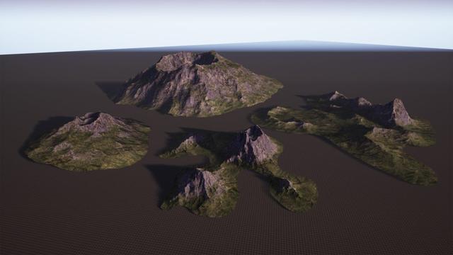 Brushify: Volcano Pack for UE4_国际_蛋蛋赞